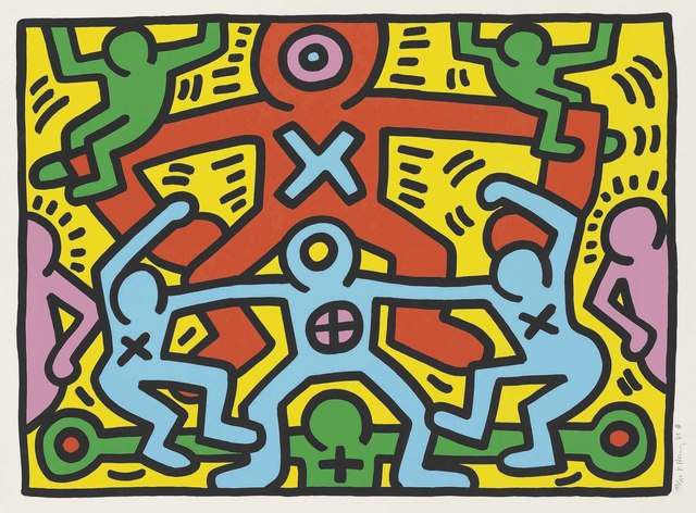 Keith Haring, 'Untitled', 1985, Christie's