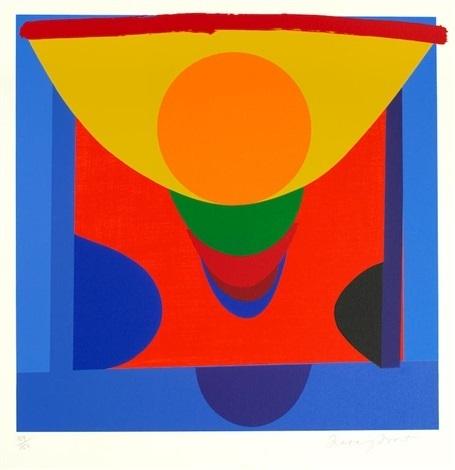 , 'Malaga Blue and Orange,' 1999, The Missing Plinth