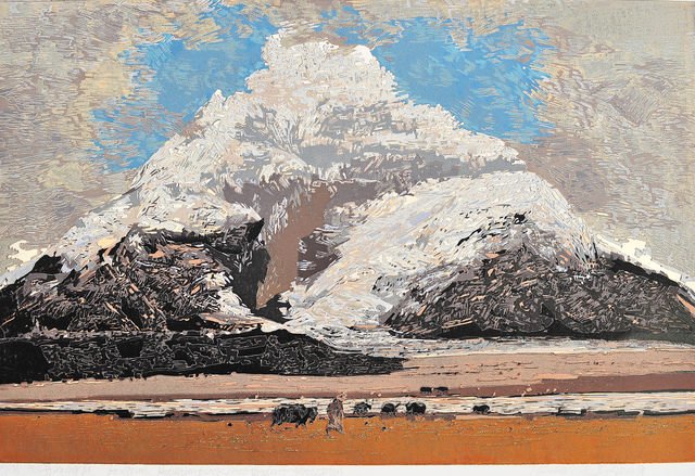 , 'The opening Mountain,' 2014, ArtChina