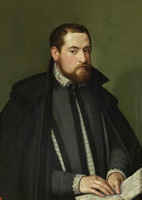 , 'Portrait of a Musician,' ca. 1560, Brun Fine Art