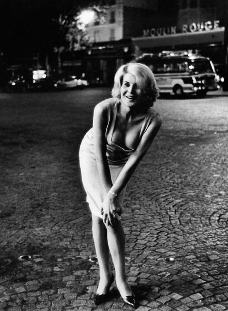 , '0029-3 Gina, Place Blanche, Paris,' 1963, Galerie Les filles du calvaire