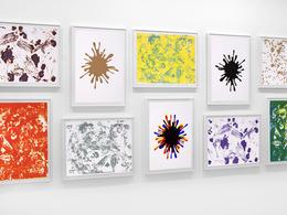 John M. Armleder, 'Spirale Blanche portfolio of 10 lithographs', 2008, Edition Copenhagen