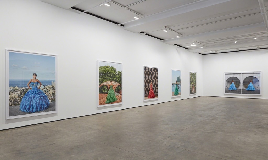 Installation view ofFrank Thiel: 15 [Quince]at Sean Kelly, New York February 10 - March 17, 2018 Photography: Jason Wyche, New York Courtesy: Sean Kelly, New York