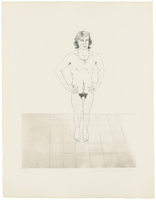 David Hockney, 'Peter', 1969, Christie's