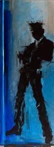 , 'Standing Shadow - Blue  ,' 2018, Maddox Gallery