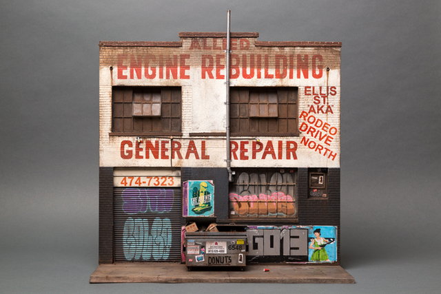 , 'Allied Engine Repair (based on Willow Street, Tenderloin, San Francisco),' 2016, Muriel Guépin Gallery
