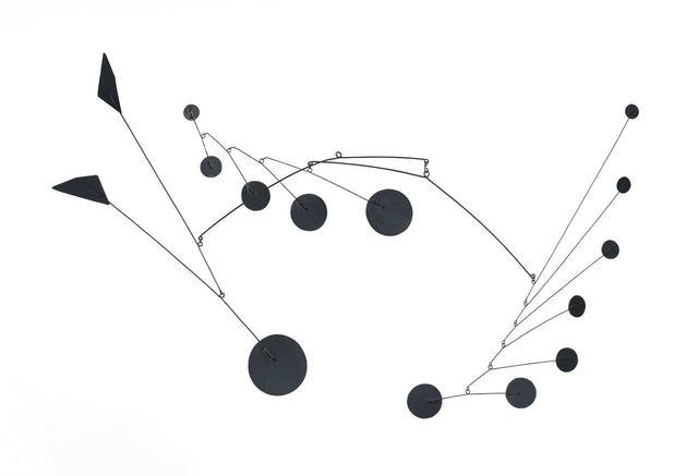 Alexander Calder, 'Mobile (Maquette)', 1959, Van de Weghe Fine Art