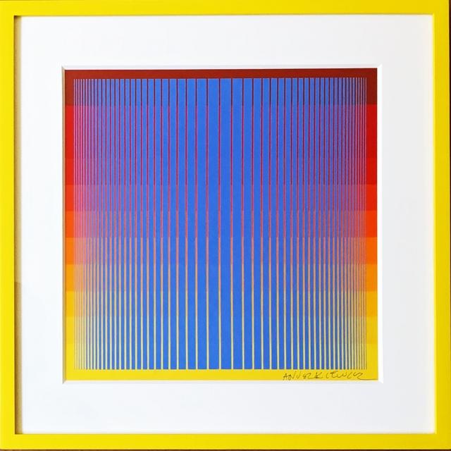 Richard Anuszkiewicz, 'Untitled Op Art Silkscreen', 1969, Alpha 137 Gallery