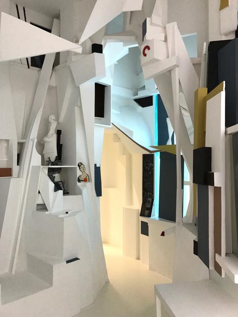 , 'Merzbau,' 2017, Galerie Anhava