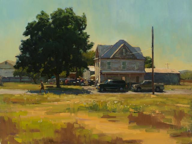 , 'Western Town,' 2017, Susan Calloway Fine Arts