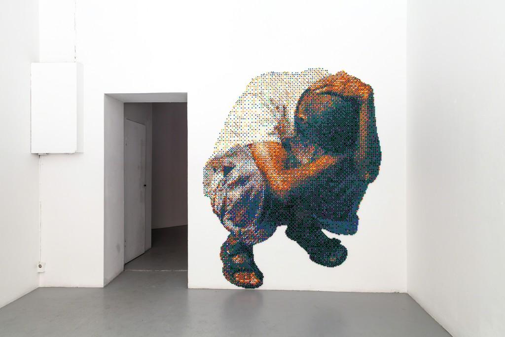 "exhibition #3: (left) ""like a sphere"", Sibylle Feucht (Bonn)"