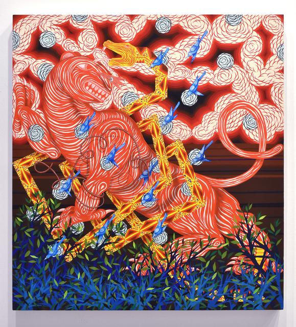 , 'Entangled Beast in Landscape (Serpent),' 2017, Joshua Liner Gallery