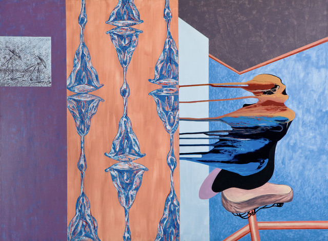 Ivan Plusch, 'Room #4', 2014, Painting, Canvas, Deborah Colton Gallery