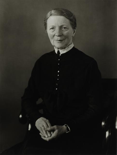 August Sander, 'Pastor's Wife, c. 1920', Galerie Julian Sander
