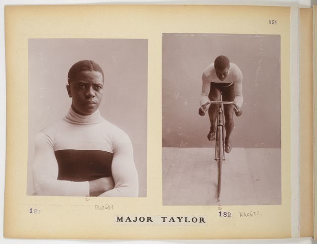 , 'Major Taylor in the Collection Jules Beau, Photographie Sportive ,' 1906-1907, Brooklyn Museum