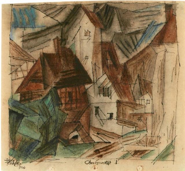 , 'Ober-Grundstedt I,' 1920, Galerie Utermann
