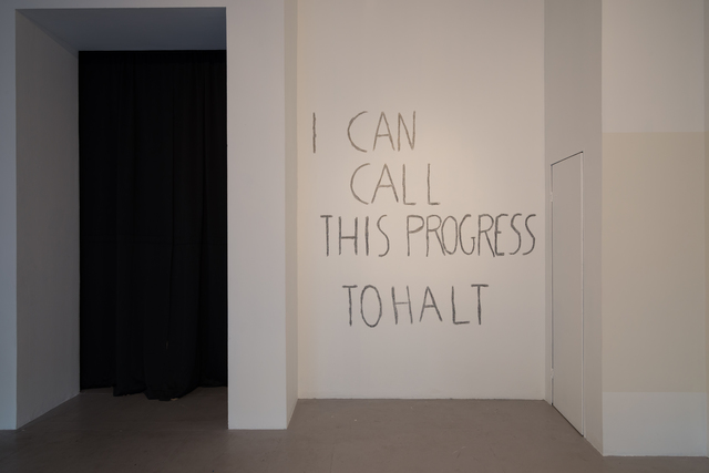 , 'I can call this progress ,' 2017, Los Angeles Contemporary Exhibitions