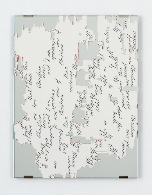 , 'Dior Fragment, 1A,' 2016, Bortolami