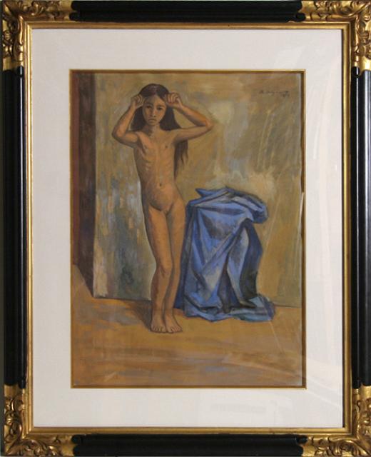 Raúl Anguiano, 'La Nina Desnuda', 1944, RoGallery