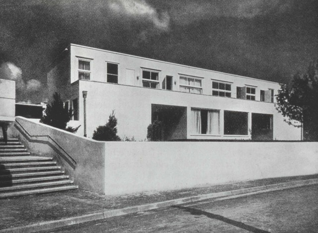 , 'House at the Werkbundausstellung,' 1927, MAK – Museum of Applied Arts, Vienna