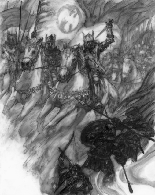 Donato Giancola, 'The Sundering: Battle of Bestanag', 2019, IX Gallery