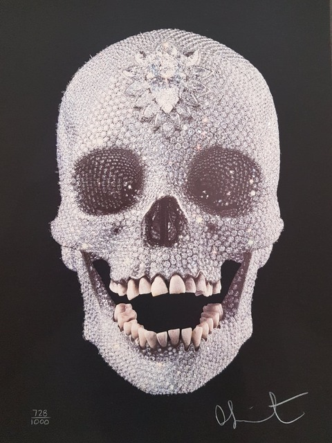 Damien Hirst, 'For The Love Of God - Diamond Encrusted Screen print', 2007, Hidden