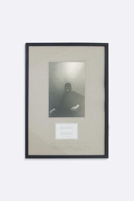 , 'Urs Lüthi, performance, self-portrait,' 1976, Soyuz