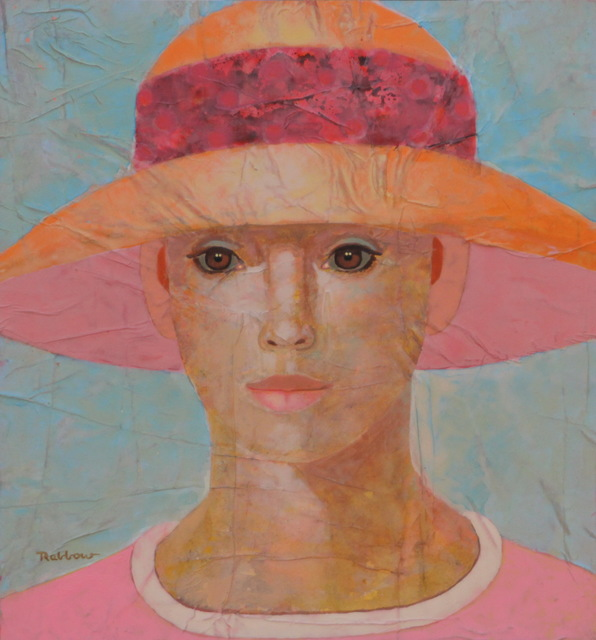, 'Lady with summerhat,' 2015, Art Center Horus