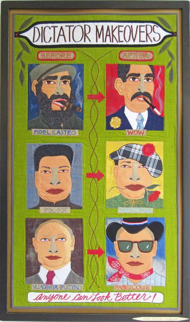 Chris Roberts-Antieau, 'Dictator Makeovers', 2018, Antieau Gallery
