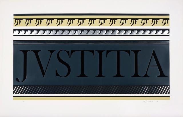 Roy Lichtenstein, 'Entablature X', 1976, Phillips