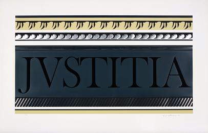 Roy Lichtenstein, 'Entablature X,' 1976, Phillips: Evening and Day Editions