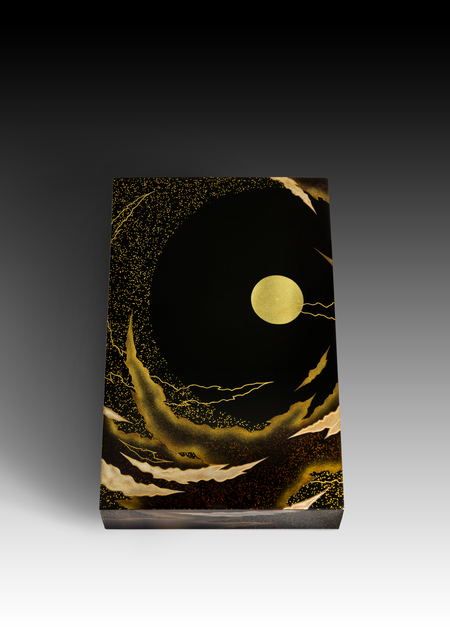 ", '""Cool Breeze and Bright Moon"" Box with Sprinkled Design (T-4178),' 2018, Erik Thomsen"