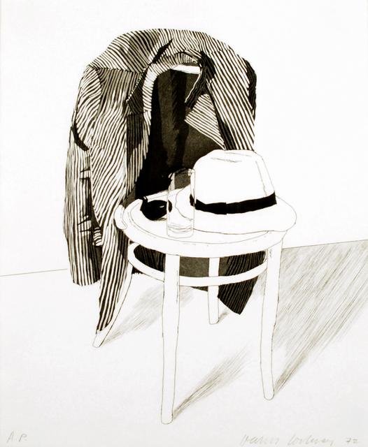 David Hockney, 'Panama Hat', ca. 1972, Brooke Alexander, Inc.