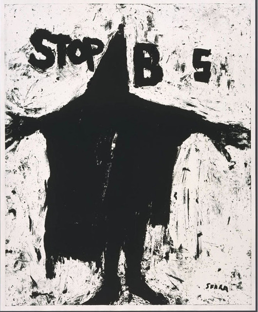 , 'Stop BS,' 2004, Robert Berman Gallery