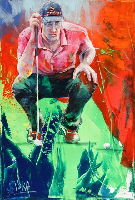 Voka, 'Golf 01', 2017, ArtCatto