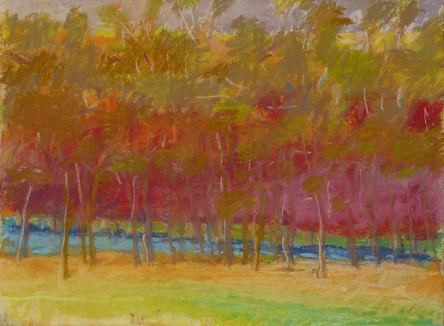 Wolf Kahn, 'Midsummer', 1993, Private Collection, NY