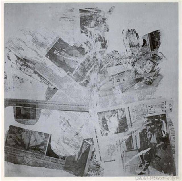 Robert Rauschenberg, 'Features From Currents #60', 1970, Jim Kempner Fine Art