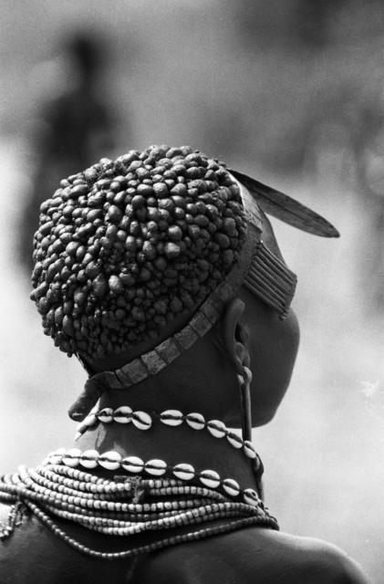 Clark and Joan Worswick, 'Ethiopia - Hamar Mud Hair Girl', 1968, Galerie Julian Sander