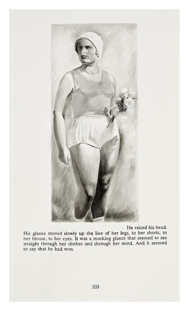 Yevgeniy Fiks, 'Ayn Rand in Illustrations (Atlas Shrugged, page 103)', 2010, Winkleman Gallery
