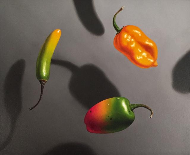 Otto Duecker, 'Three Hot Peppers', 2018, M.A. Doran Gallery