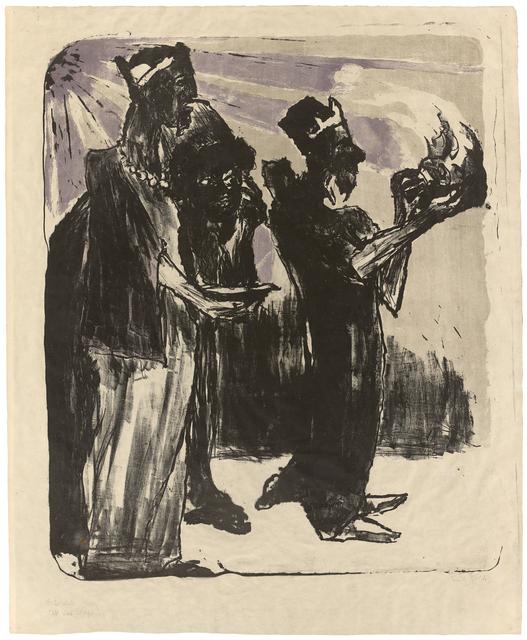 , 'Die heiligen Drei Könige,' 1913, Galerie Herold
