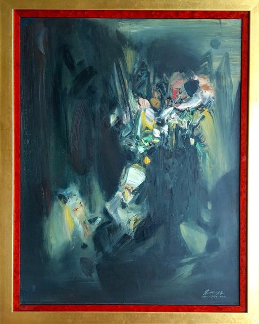 Chu Teh-Chun, 'Untitled', 1970, MICHALI GALLERY