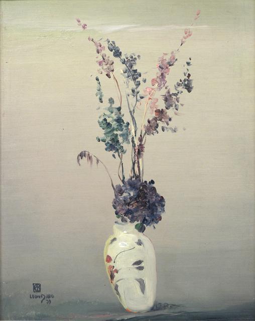 , 'Lavender Flowers in White Vase,' 1939, Sullivan Goss