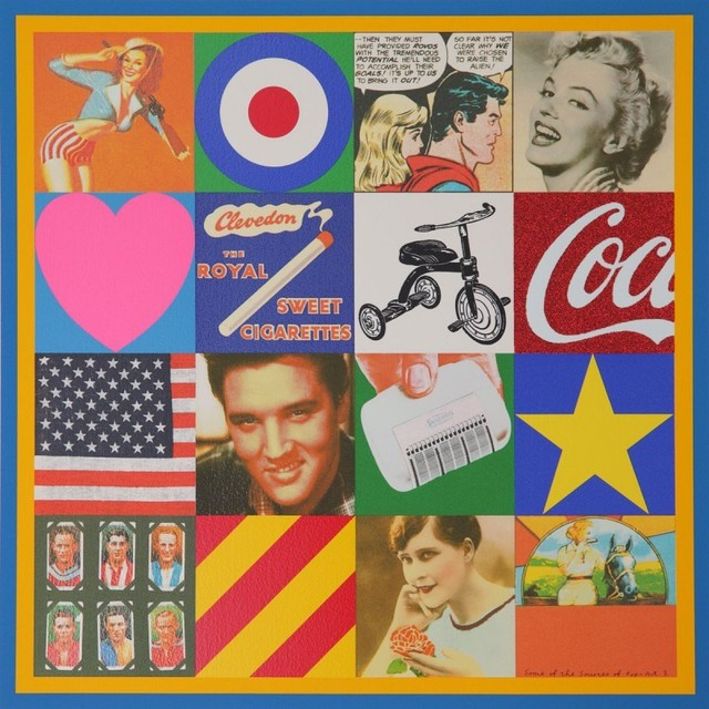 Peter Blake, 'Sources of Pop Art III', 2006, Lougher Contemporary