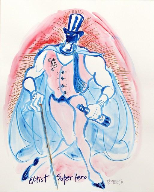 , 'Elitist Superhero,' 2011, Jean Albano Gallery