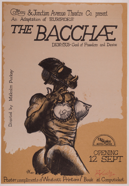 , 'The Bacchae,' 1983, Sylvan Cole Gallery