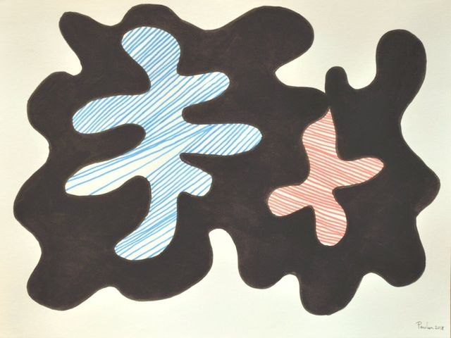 Walter Perdan, 'Two leafs ', 2018, design art concepts