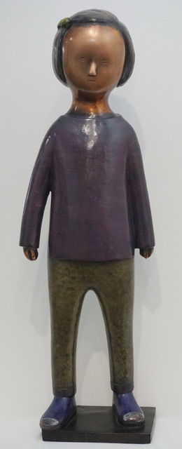, 'Girl with Purple T Shirt,' 2017, Galerie Bhak