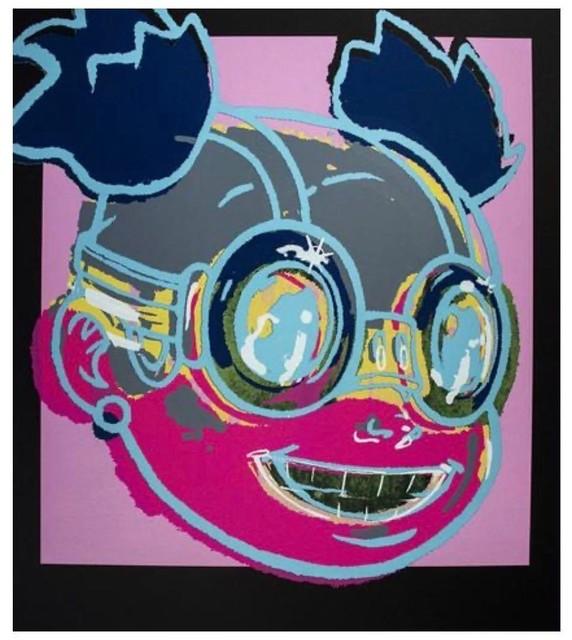 Hebru Brantley, 'Lilac', 2020, Print, Screenprint on paper, Artsy x Forum Auctions