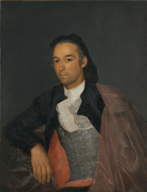 , 'Portrait of the Matador Pedro Romero,' 1795-1798, Blanton Museum of Art